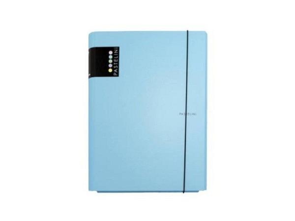 Pendenzenmappe Pastelini Softbox Karton laminiert A4 hellblau