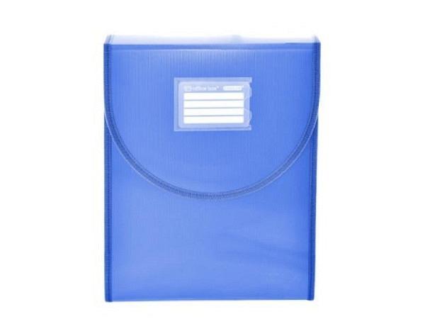 Fächermappe Grafoplas Project Koffer blau mit Traggriff