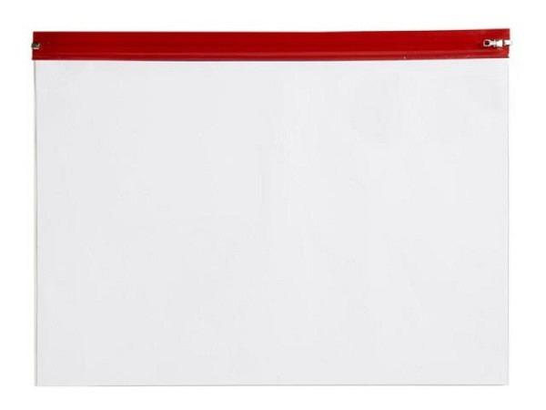 Pendenzenmappe Rumold A5 mit rotem Schiebeverschluss