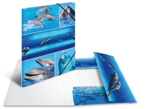 Pendenzenmappe Herma Karton A4 Delfine