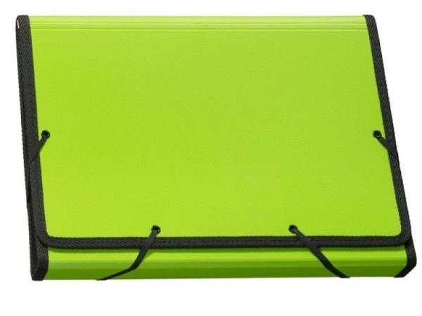 Fächermappe Kolma Daily Colours A4 grün mit 13 Fächern
