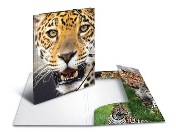 Pendenzenmappe Herma Kunststoff A4 Leopard