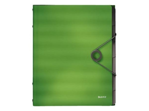 Ordnungsmappe Daily Rainbow grün-transparent A4 31Tlg