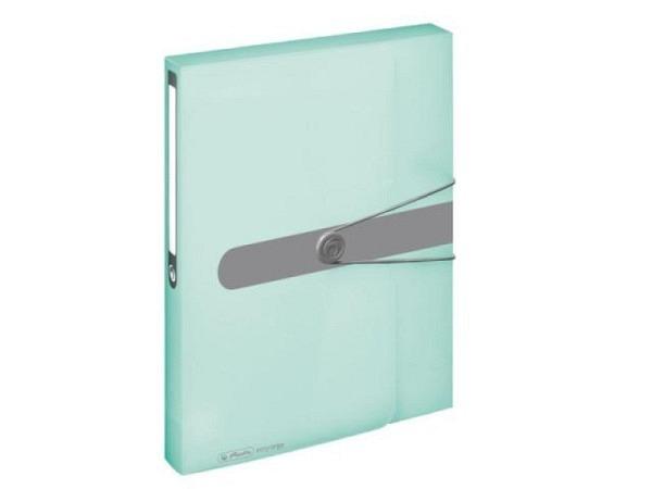 Sammelbox Herlitz Pastell minze-transparent A4