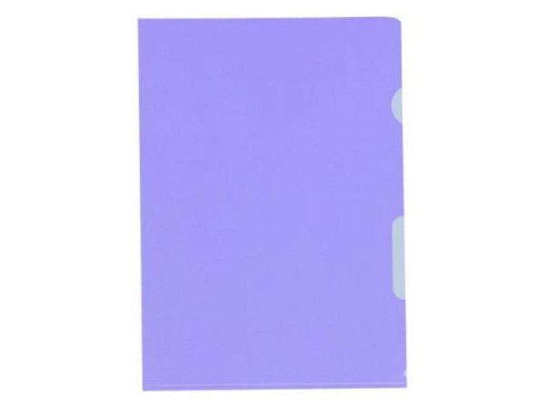 Sichtmappen BüroLine matt violett dünn 100Stk.