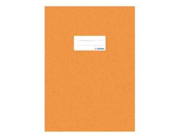 Hefthülle Herma A4 orange, ideal für A4 Schulhefte