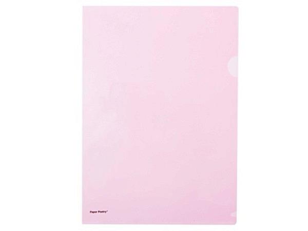 Sichtmappen PaperPoetry A4 opak rosa