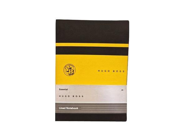 Notizbuch Montblanc schwarz 150x210mm liniert