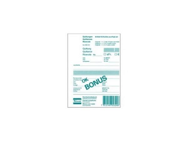 Quittung Favorit A5 8395 OK 84 Blatt günstig