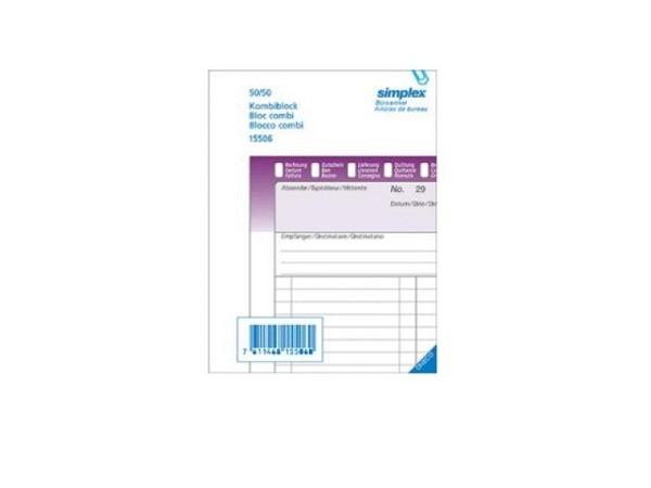 Kombiblock Simplex A6 No. 15506, vielseitig verwendbar
