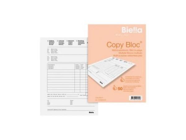 Mehrzweck Biella Copy Bloc A6 50x2 Blätter