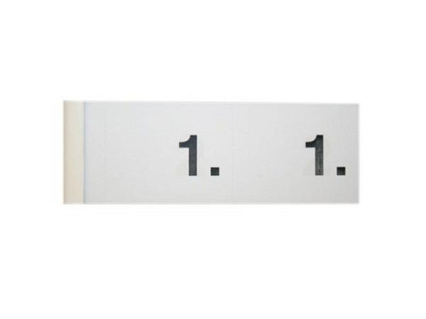 Garderobenblock Simplex 1-100 weiss