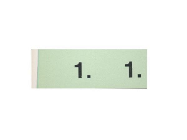 Garderobenblock Simplex 1-100 grün