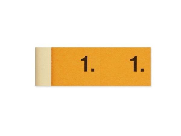 Garderobenblock Simplex 1-100 orange