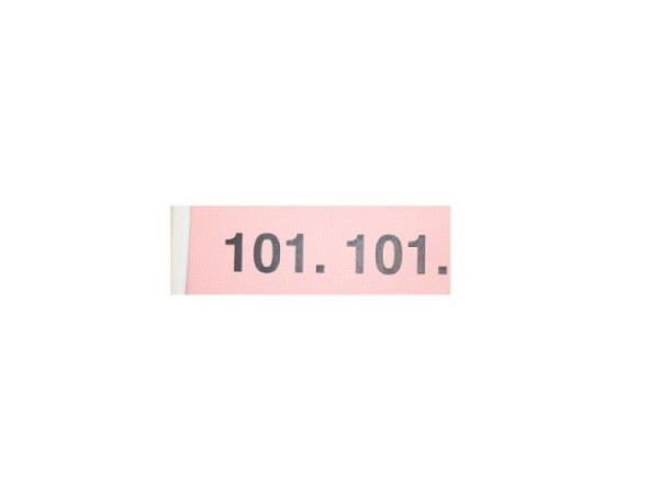 Garderobenblock 101-200 rosa