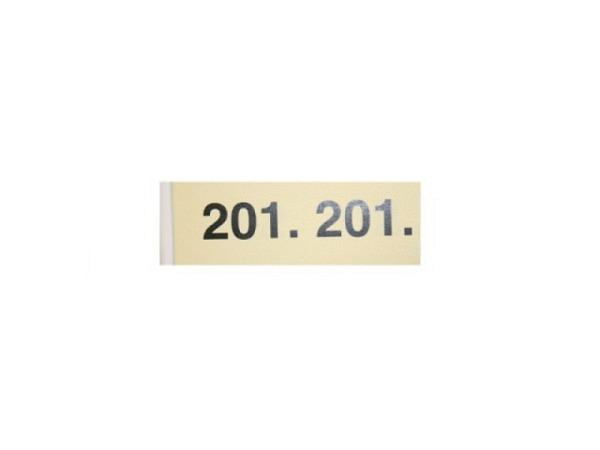 Garderobenblock 201-300 gelb