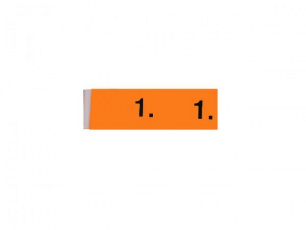 Garderobenblock 201-300 orange