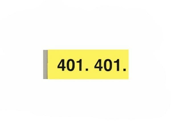 Garderobenblock 401-500 gelb
