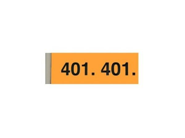 Garderobenblock 401-500 orange