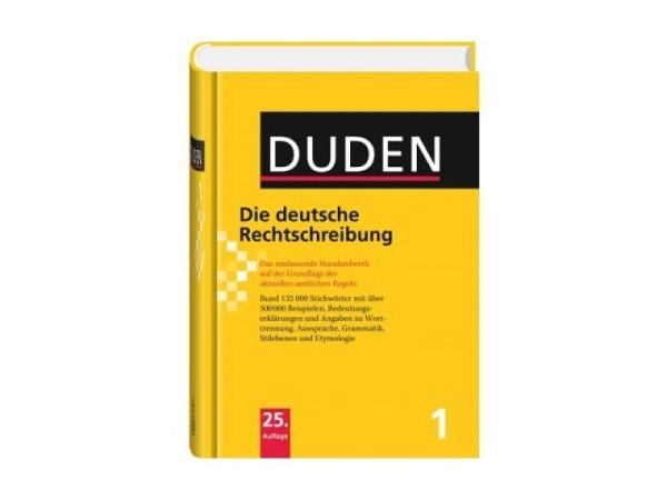 Nachschlagewerk Duden Nr.1 die deutsche Rechtschreibung