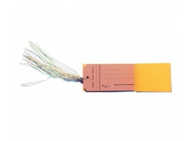 Anhängeetiketten Biella 120x60mm Druck Heft zu 10 Etiketten