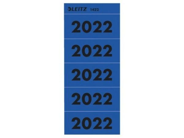 Etiketten Leitz Jahreszahl 2020 rot, Papier selbstklebend
