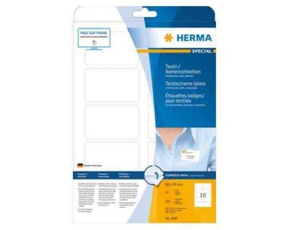 Etiketten Herma Special Namensetiketten A4, 50x80mm