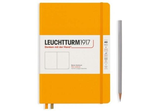 Notizbuch Leuchtturm Bullet Journal medium punktkariert Nordic Blue