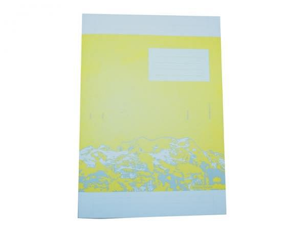 Heft Ingold Biwa Schreibpapier A4 9mm liniert mit Rand