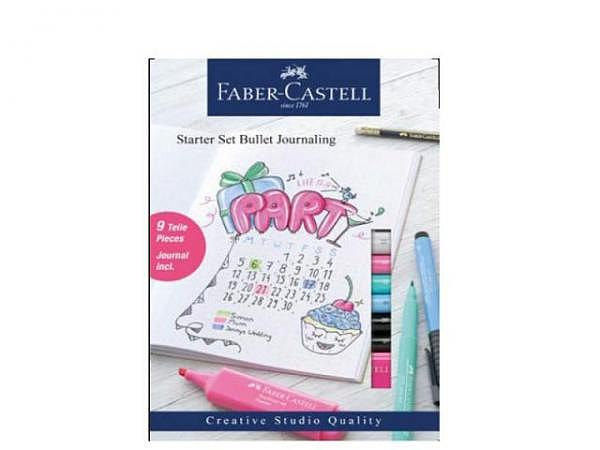 Notizheft Faber-Castell Bullet Journal mit 40 Seiten. Starter Set