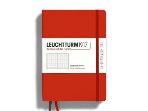 Notizbuch Leuchtturm Bullet Journal punktkariert schwarz