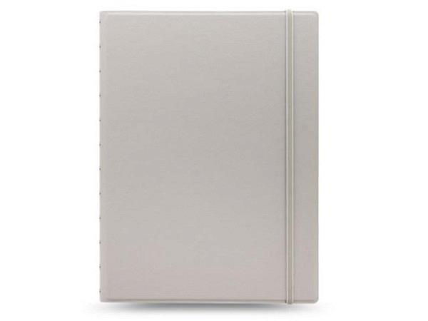 Notizbuch Filofax Notebook A4 Classic Pastels stone hellgrau