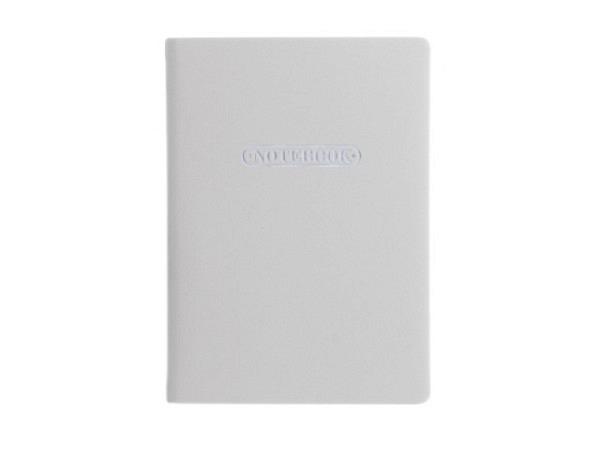 Notizbuch Artebene rosa/lila gestreift A5 punktkariert