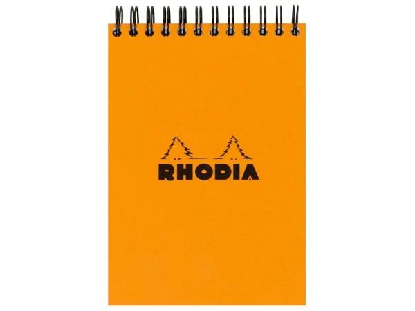 Notizbuch Bug Art Elephant A6 schwarz, mit schwarze Spirale, liniert, 80 Seiten 80g/qm weisses Papier
