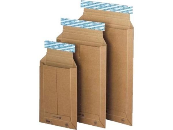 Kartoncouverts Brimail braun 36,9x55,5cm 1,5mm-Wellkarton