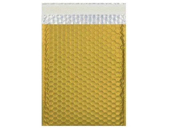 Luftpolstertüte metallisch matt 23x32,4cm gold