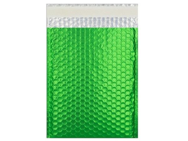 Luftpolstertüte metallisch matt 23x32,4cm grün