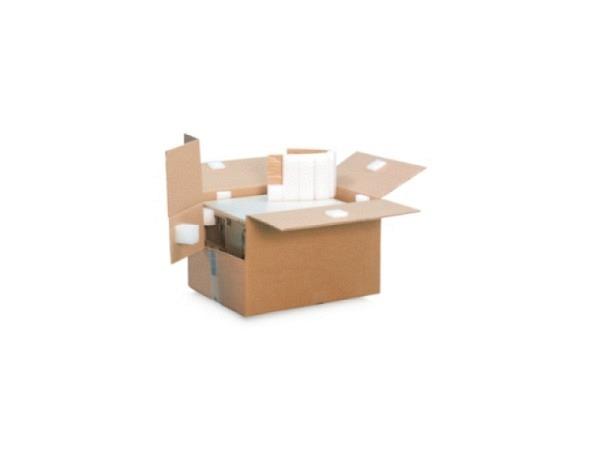 Schutzpolster selbstklebend 5x5x2,5cm, aus PE-Schaum