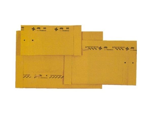 Versandtasche Jiffy Gr.1 aussen 18x30cm, innen 16,5x28cm, 100Stk.
