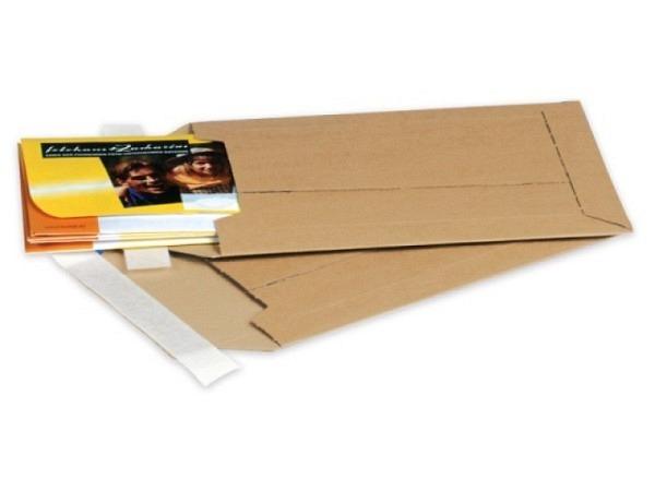Kartoncouverts Elco CD-/DVD weiss 22,3x15,5x20mm, mit Lasche