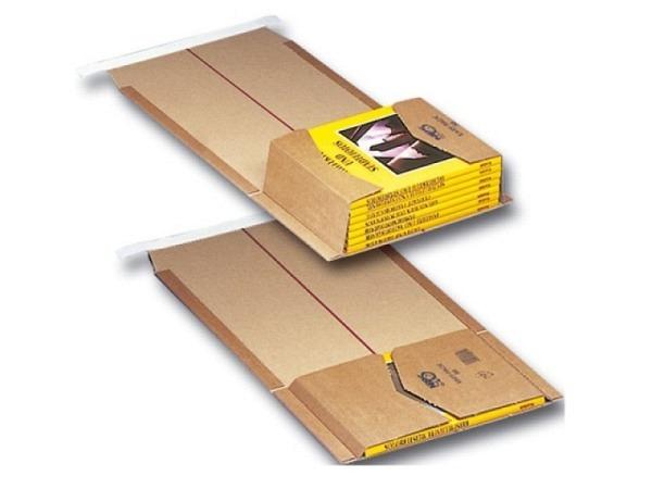 Buchversandhülle Elco Karton 218x302x90mm Innenmasse, 2Stk
