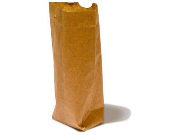 Bodenbeutel Papier Natronkraft braun 14x22cm