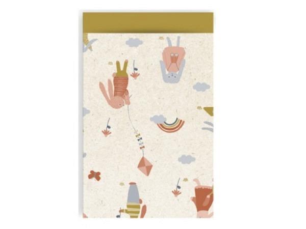 Bodenbeutel Paperbags 17;30 Medium Panda 54x34,5x11cm