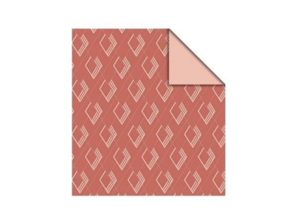Flachbeutel HOP Studio Pillah Art Deco pink, 12x19cm