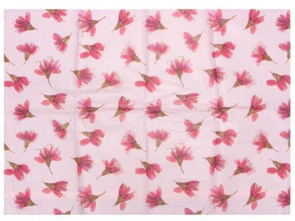 Seidenpapier Mousseline 50x75cm silber metallic ca. 90 Bogen