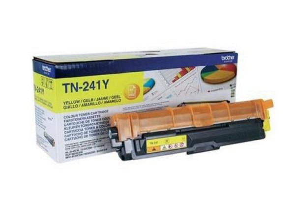 Toner Brother TN-341Y yellow für HL-3140/3170, 1400 Seiten