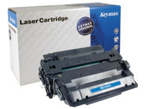 Toner Keymax RMC-Toner-Modul schwarz, zu HP LJ P3015, 12500 Seiten