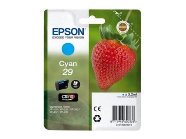 Druckerpatrone Epson T298240 cyan