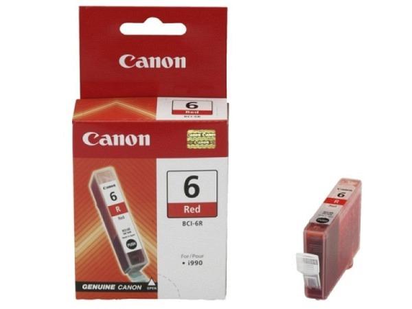 Druckerpatrone Canon BCI-6R Red Ersatz Patrone, 3000Seiten