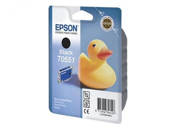 Druckerpatrone Epson T055140 Black, für 290 Seiten